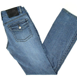 Harley Davidson Studded Jeans 4 Long Boot Cut